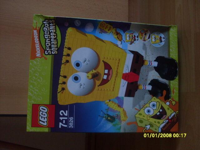 LEGO SpongeBob Und Planktons Abenteuer (3826) Neu und OVP