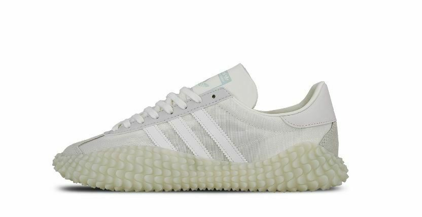 Adidas Originals Country x Kamanda Turnschuhe Schuhe Weiß Herren Gr. 42 UK 8 G27825