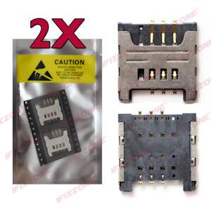 2-x-New-SIM-Card-Reader-Slot-Socket-Holder-For-Samsung-Galaxy-i9000-N7000-USA