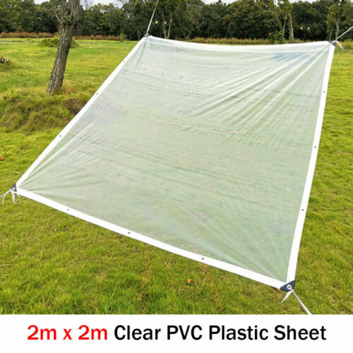Plastic Polythene Sheeting Curtain Hanging Counter Desk Screen Cover Eyelet