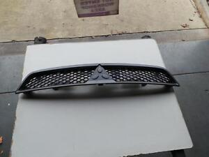 MITSUBISHI-LANCER-GRILLE-RADIATOR-GRILLE-CJ-HATCH-GREY-BLACK-09-07-07-09-07
