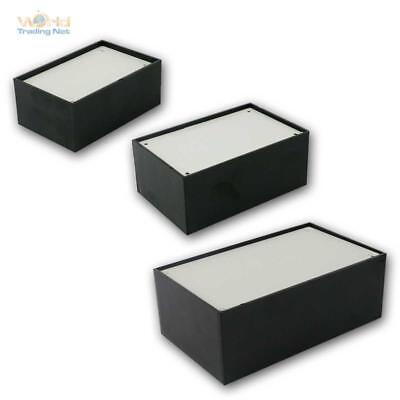 Sezione Speciale Modulo Chassis In Plastica Nero 10/20/30p Chassis Box Elettronica Per Cassetta Case-mostra Il Titolo Originale Rafforza Tendini E Ossa