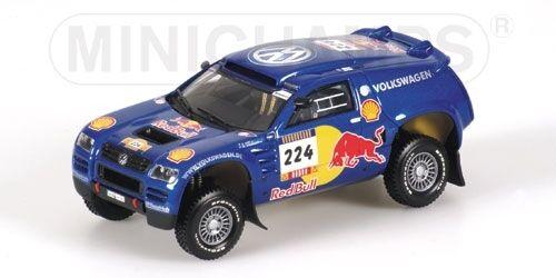 Volkswagen Race Touareg saby Parigi dakar 2004 1 43 Model Minichamps