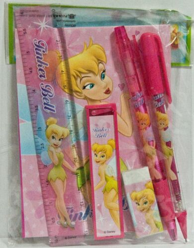 Disney Tinker Bell Pink Stationary Set Party Favors Party Supplies