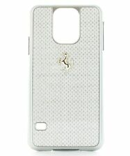 Ferrari GT Carbon Hard Case for Samsung Galaxy S5-Silver Frame