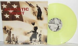 AGNOSTIC-FRONT-Liberty-amp-Justice-For-German-Yellow-Marble-Vinyl-LP-Punk-Hardcore