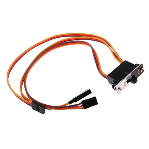 MagiDeal RC Truck Airplane Accs JR Connector Wire Cable Line w// Power Switch