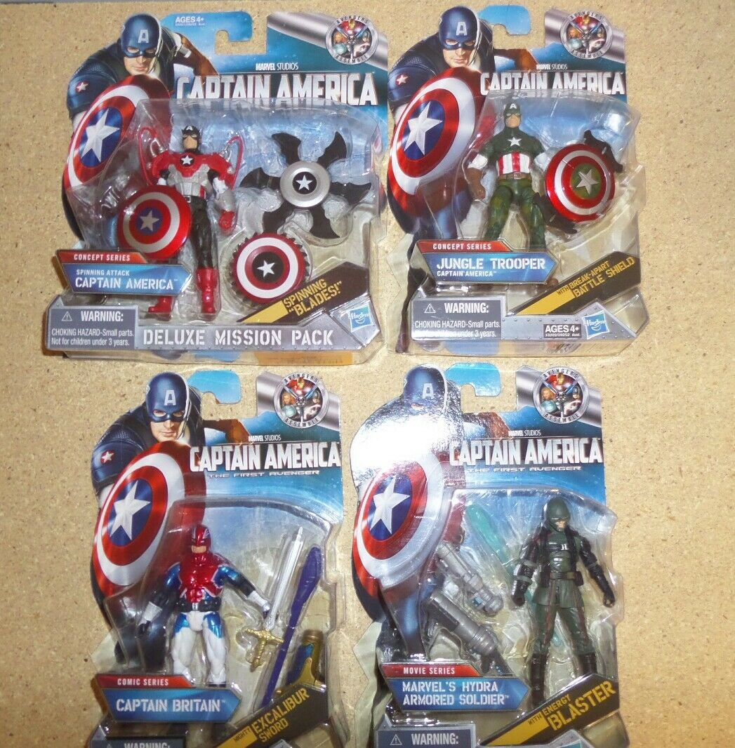 Captain America the first avenger   3.75 Inch Figure LOT