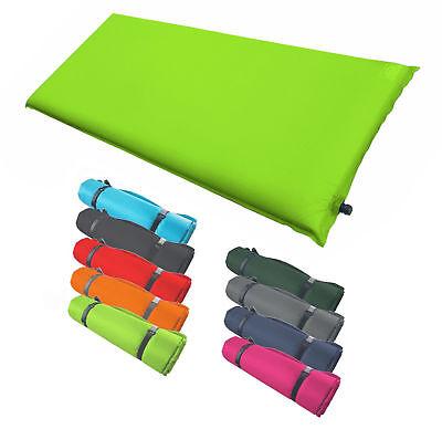 isomatte selbstaufblasend 200 x 66 x 10 cm campingmatte luftmatratze farbwahl ebay. Black Bedroom Furniture Sets. Home Design Ideas