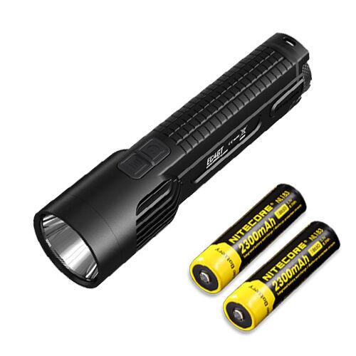 Nitecore EC4GT Linterna LED XP-L Hi - 1000Lm con 2x NL183 Batería