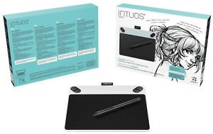 Details about NEW Wacom Intuos Draw Pen SMALL WHITE Digital Graphic Tablet  PC Mac CTL-490DW-S