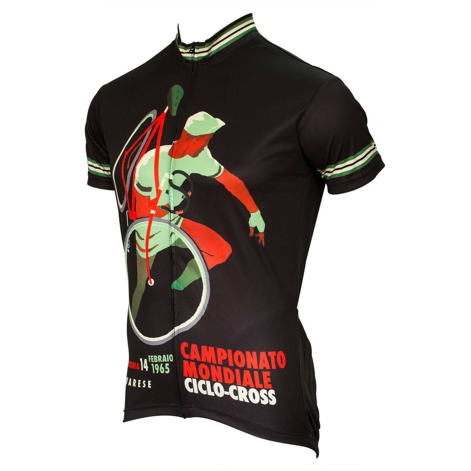 World Ciclo Cross World  Championship Cycling Jersey by Retro Size Medium  buy cheap new