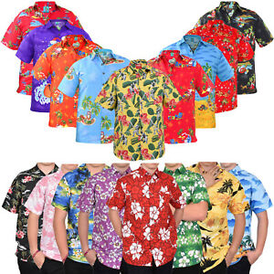 90a3003f7 Image is loading Mens-Hawaiian-Shirts-Stag-Beach-Party-Summer-Holiday-