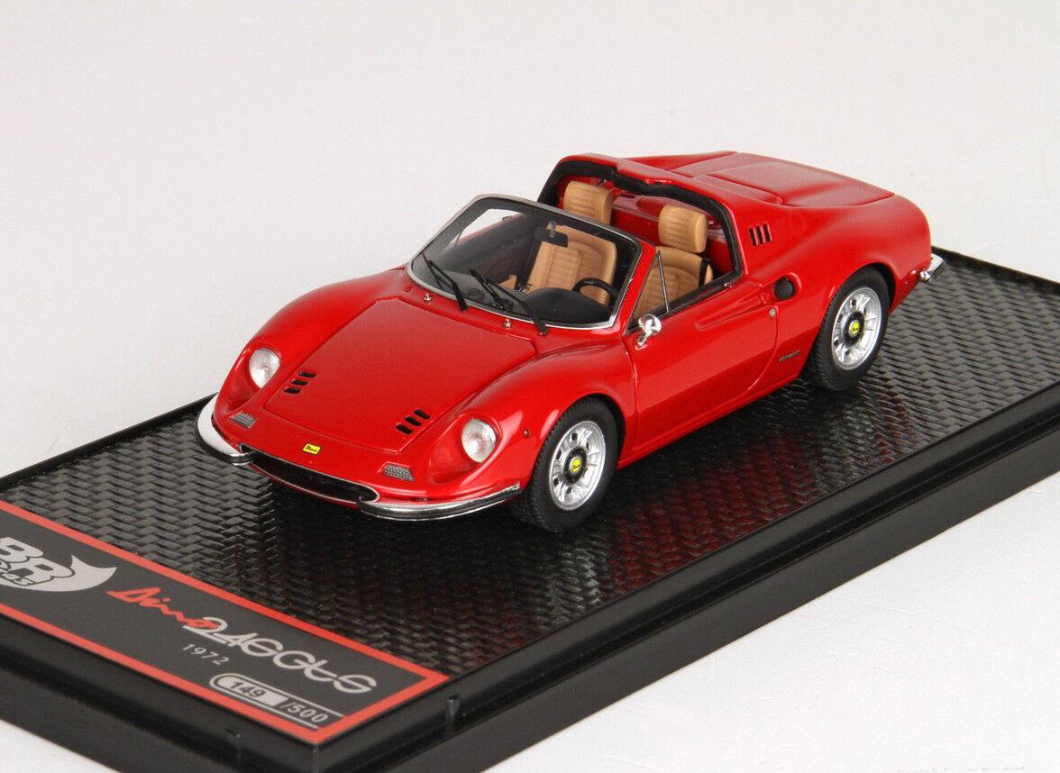 BBR - DINO FERRARI 246 GTS - Red - BBR BBRC54A - 1/43