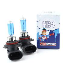 HB4 80w Super White Xenon Upgrade HID Front Fog Lamp Light Bulbs Pair