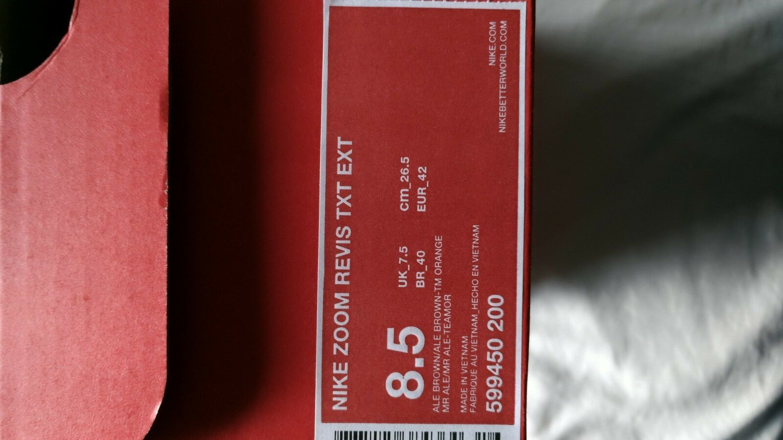 Nike Zoom Revis TXT EXT size 8.5 8.5 8.5 NY Jets NFL 599450 200 Camo Brown orange ed6934