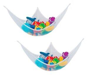 image is loading 2x kids children hanging toy corner hammock    2x kids children hanging toy corner hammock   to organize      rh   ebay