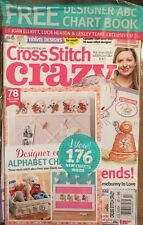 Cross Stitch Crazy Free Alphabet Chartbook Travel Designs Jul 2015 FREE SHIPPING