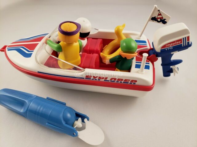 Playmobil z312 sea-transient woman of outboard 3225