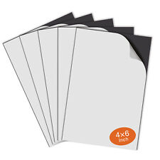 Stone City Strong Self Adhesive Magnetic Sheet 4x6 5pcs For Photo Craft Flexible