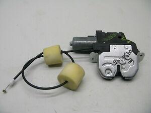 07-13 Mercedes W216 CL550 S600 S550 Rear Trunk Lid Lock Latch Actuator OEM