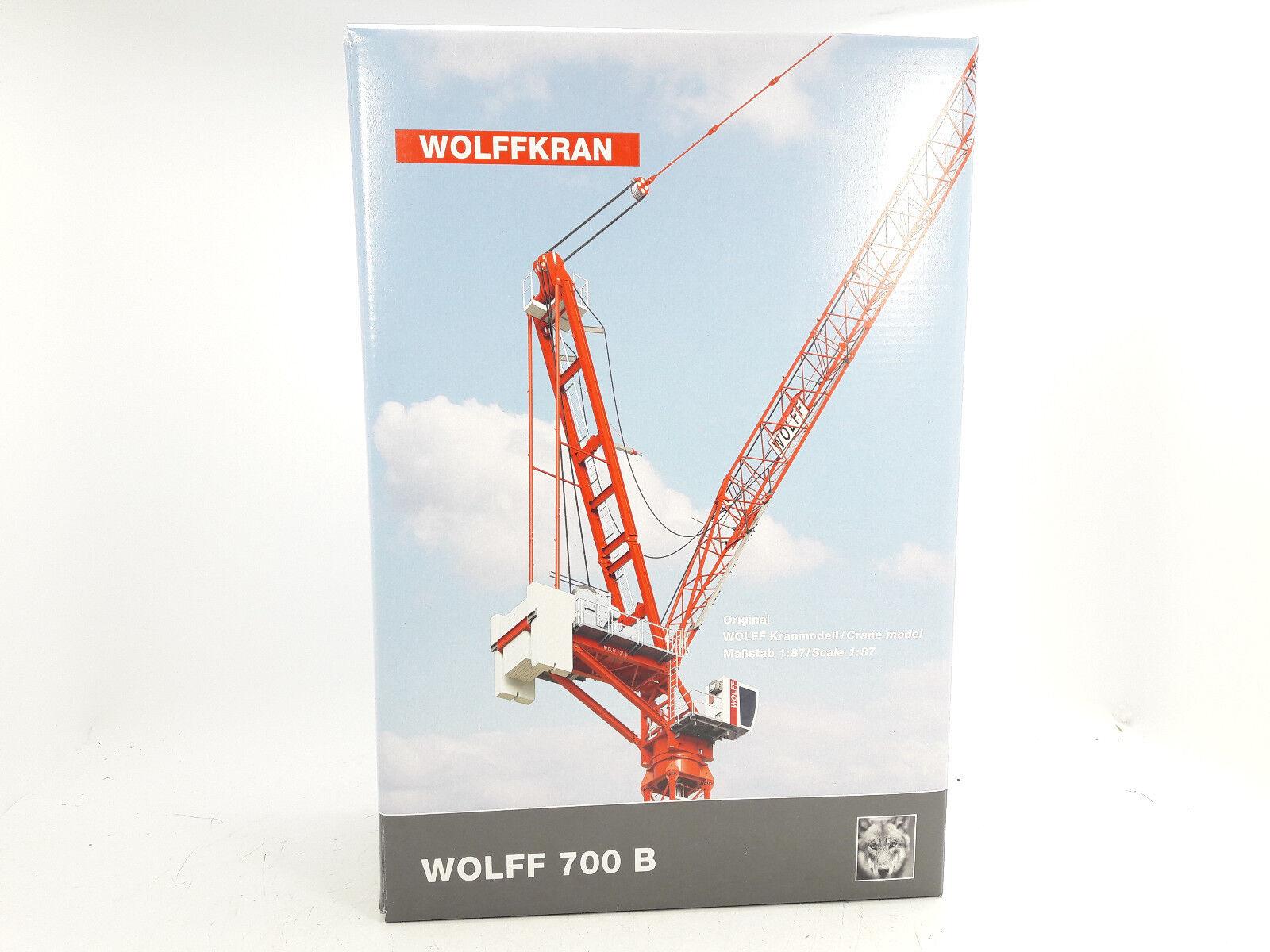 Conrad 2032 Wolff Wolffkran 7008  Wippkran 1 87 Neuf Emballage D'Origine  édition limitée chaude