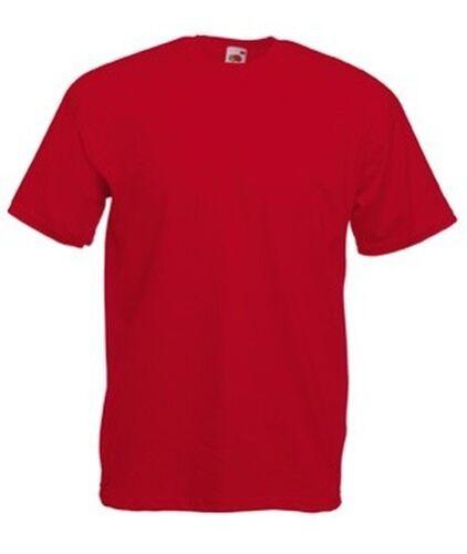 FRUIT OF THE LOOM T-SHIRT Short Sleeves MAN T-SHIRT Short Sleeve COTTON 165gr
