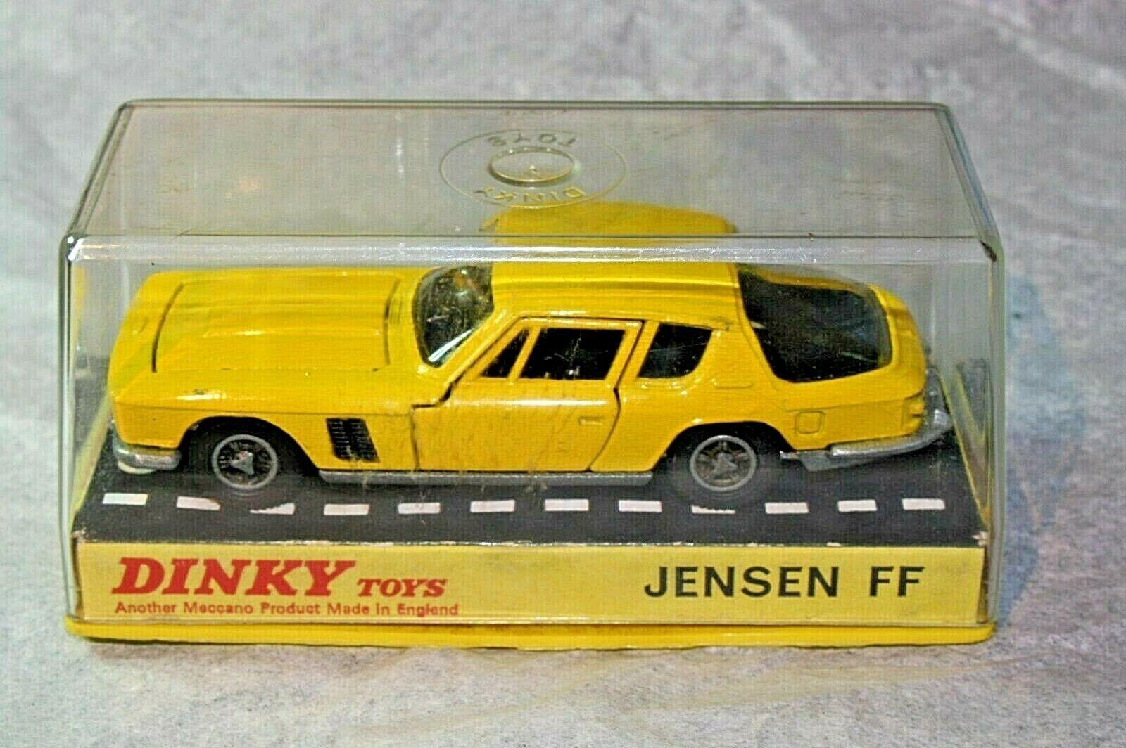 Dinky 188 JENSEN  FF, superbe état en bonne boîte d'origine  qualité de première classe