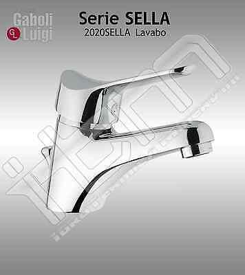 """Rubinetto GABOLI Miscelatore LAVABO serie STEP scarico 1/""""1//4 cod ST12CR"""