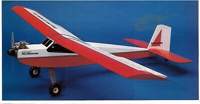 TELEMASTER JR  PLAN + ALL PARTS PATTERNS to Build a 48