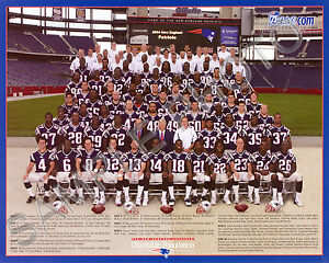 Image is loading 2004-NEW-ENGLAND-PATRIOTS-FOOTBALL-8X10-TEAM-PHOTO 99f15f641
