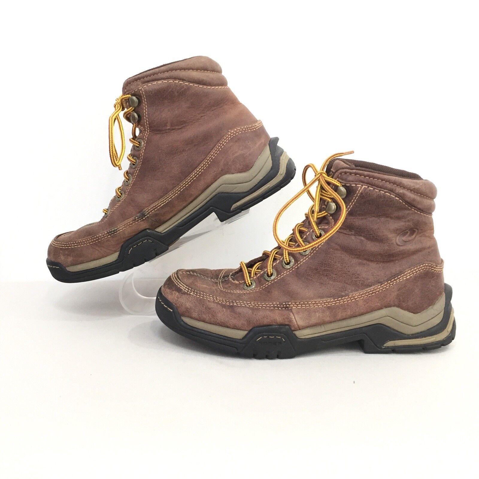 Roper mujer SZ 7.5 marróns Cuero Cuero Cuero con Cordones Occidental botas De Montar US 7.5 EUR 38.5  descuento de ventas en línea