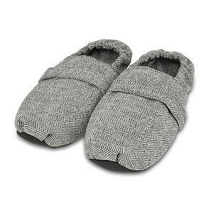 Image Is Loading Zhu Microwavable Slippers Herringbone Unscented Microwave Feet