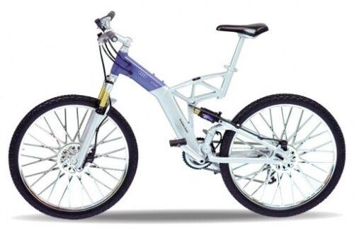 Welly Fahrrad Modell 1:10 Audi design Cross Bike