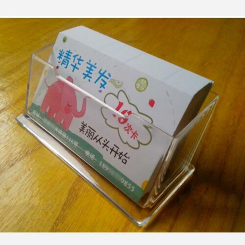 Chic Desktop Visitenkartenhalter Ausstellungsstand Acryl Kunststoff Schreibtisch
