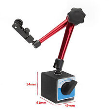 Magnetic Base Adjustable Metal Test Indicator Holder Digital Level Stand 350mm