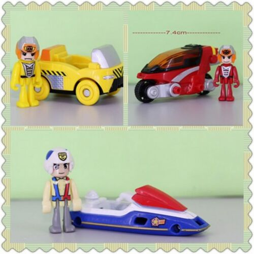 Tomy Tomica Figures 3-pcs set