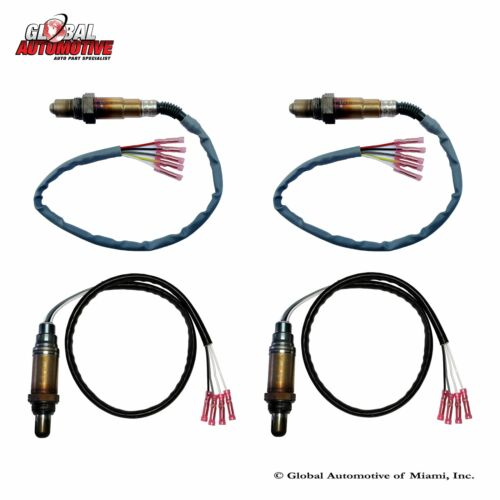Set of 4 New Bosch Oxygen O2 Sensor for 2004-2007 Nissan Murano V6 3.5L