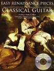 Easy Renaissance Pieces For Classical Guitar by AMSCO Music (Paperback, 2010)