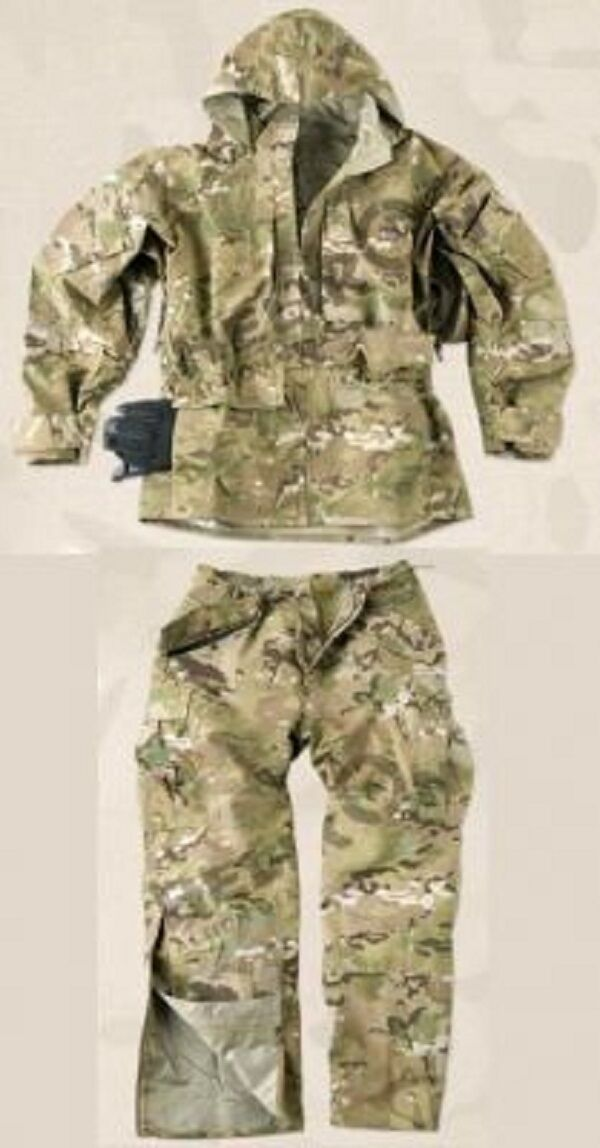 HELIKON TEX US ECWCS Camogrom ARMY COLD WET WEATHER Costume Pantalon Veste Small