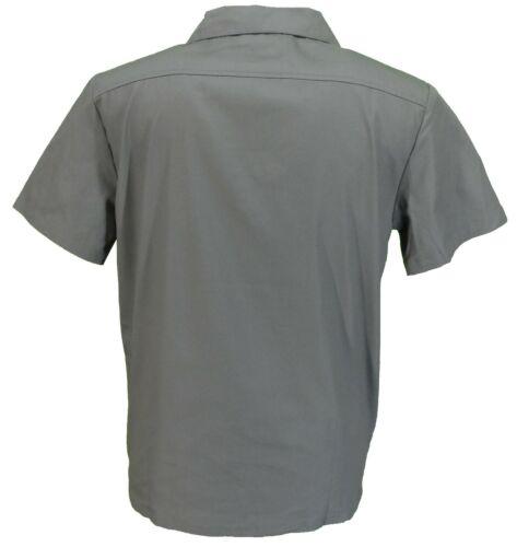 Homme Rétro Gris//Bordeaux Rockabilly Bowling Shirts