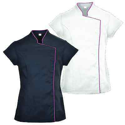 Portwest Ladies Wrap Tunic Blouse Shirt Top Beauty Spa Salon Hairdresser LW15