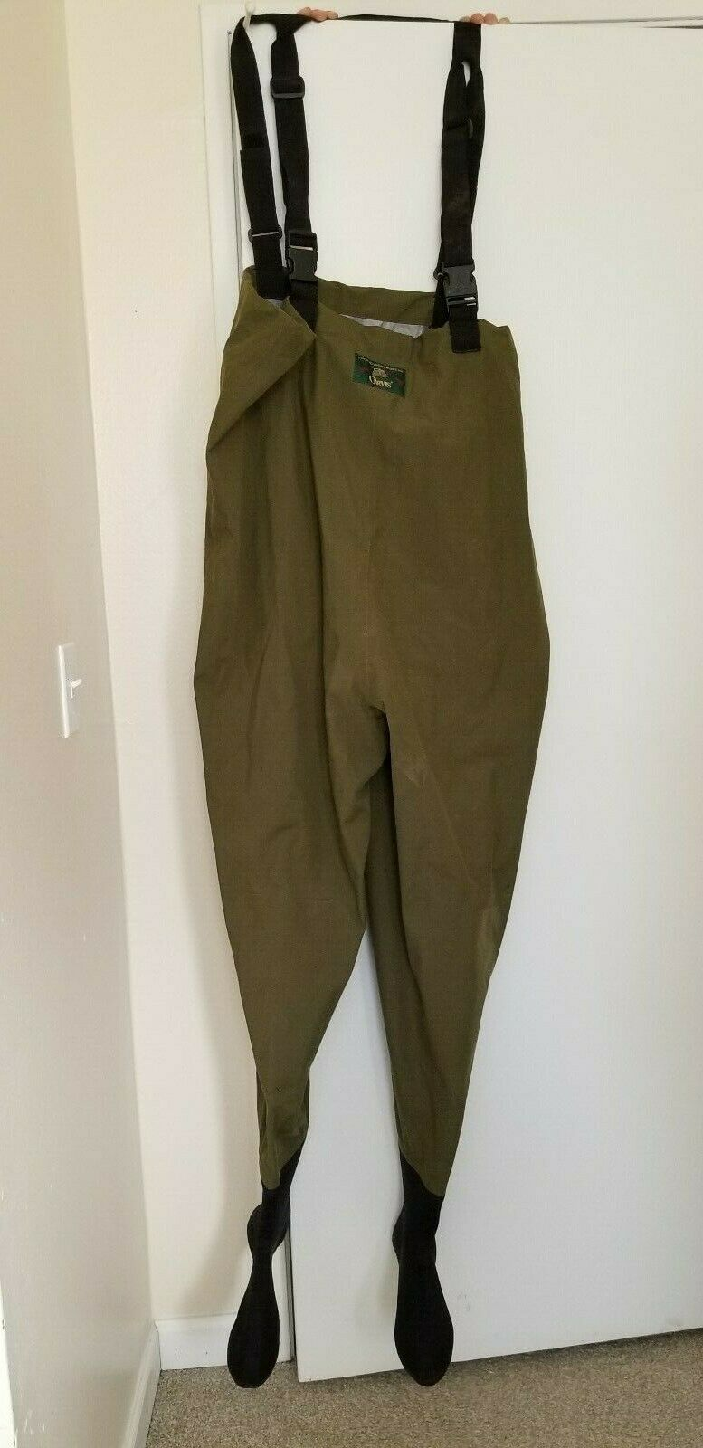MENS ORVIS BREATHABLE SEAM  SEALED FISHING CHEST WADERS SIZE LARGE  online retailers