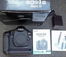 Canon EOS 1D Mark III digital camera  ....boxed