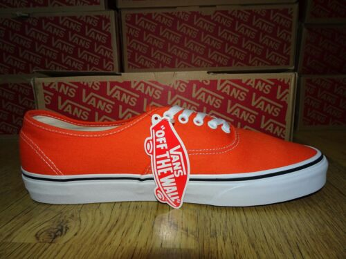 Vans disponibles Taille Flame true de Bnib 8 5 Baskets White Plus Uk Orange tailles rqrUwXxnFO