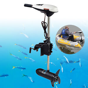 Hangkai Electric Outboard Trolling Motor 65 Lbs Fishing