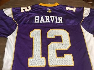 Nfl Details Percy About Xl Jersey Vikings Reebok Harvin Authentic Minnesota 12