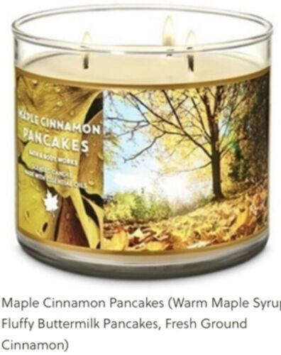 Bath /& Body Works 3 Wick 14.5 oz Scented Candles Summer Fall Winter Spring