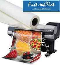 Latex Printable Poly Vinyl Banner Roll Waterproof 24 X100ft Shipped Free