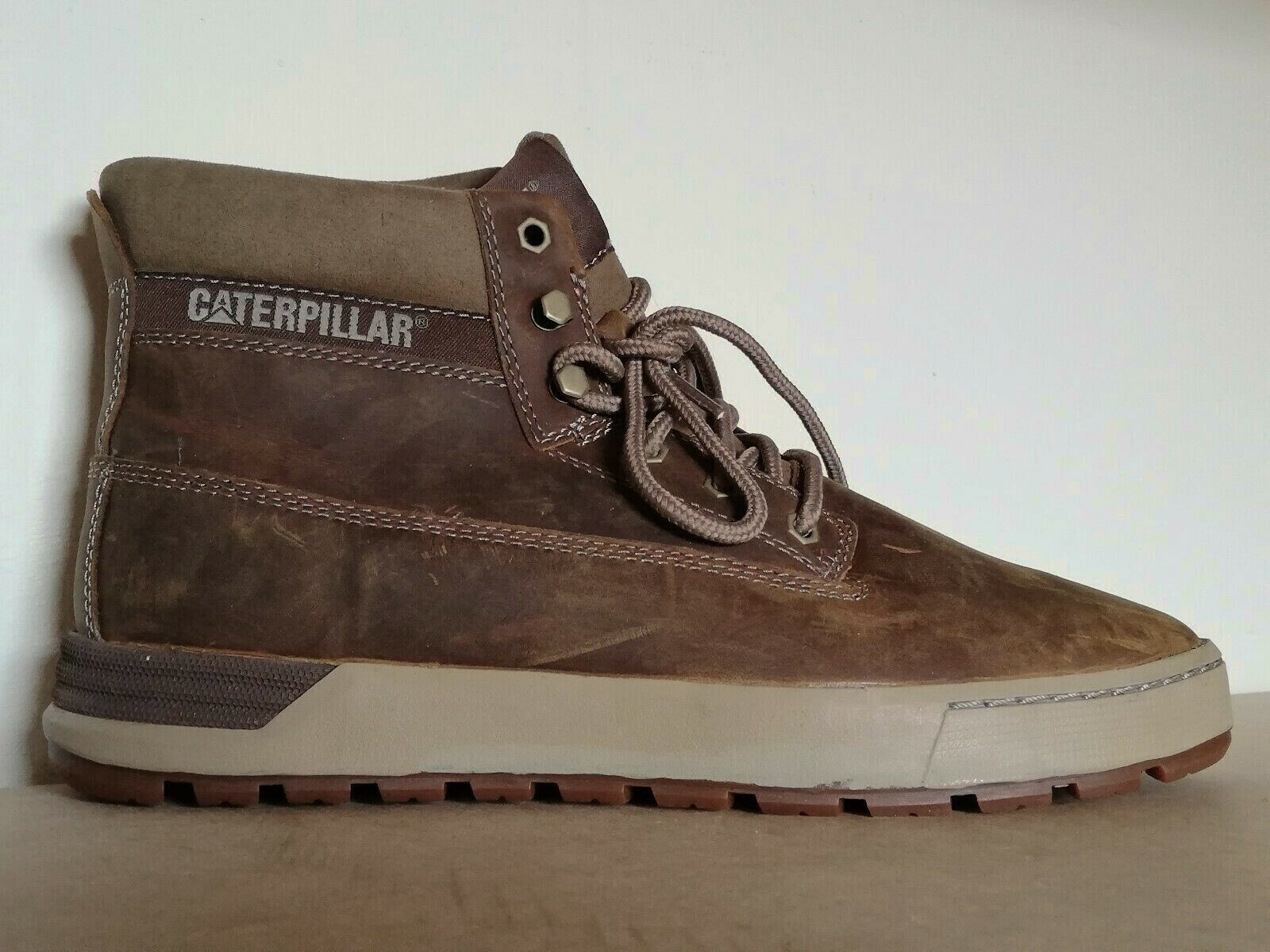 CATERPILLAR CAT MENS RYKER CUSHIONED schuhe Stiefel braun UK 8 US 9